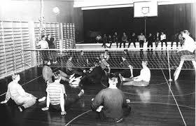 zivvolleybal in vroege jaren