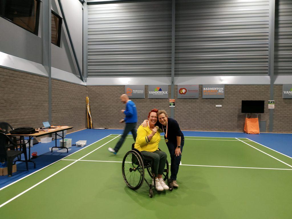 Parabadminton toernooi BC Duinwijck _sportvereniging KIS