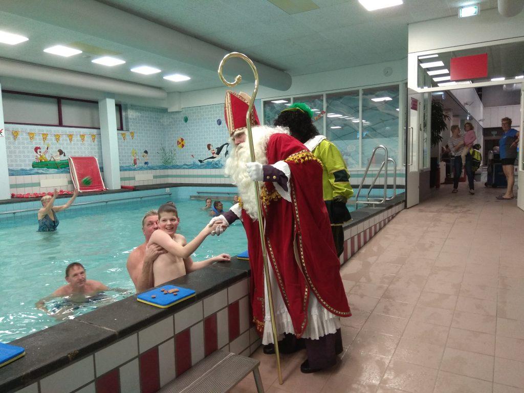 Sinterklaas op bezoek bij de KIS