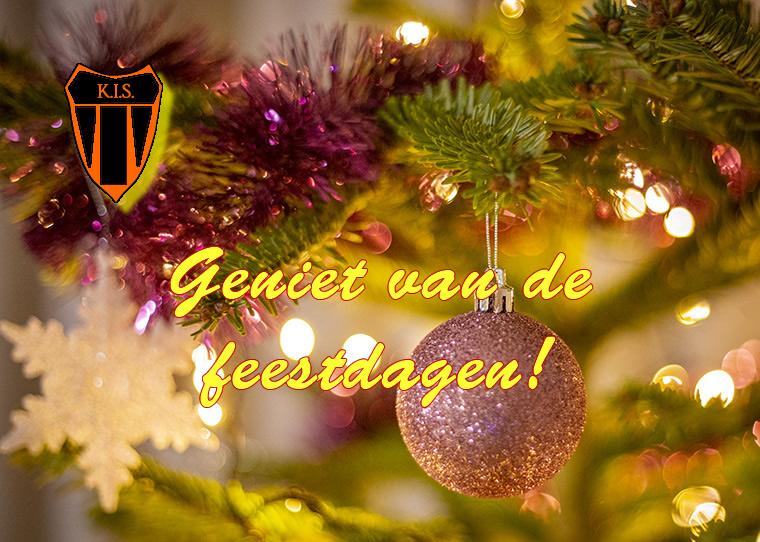 Sportvereniging KIS - Geniet van de Feestdagen!