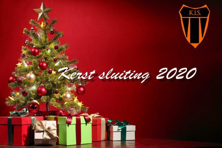 KIS kerstsluiting 2020
